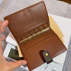 Louis Vuitton Monogram Agenda PM Notebook Cover